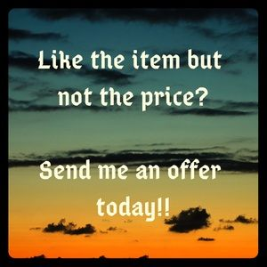 ❤️ I LOVE OFFERS!!! ❤️